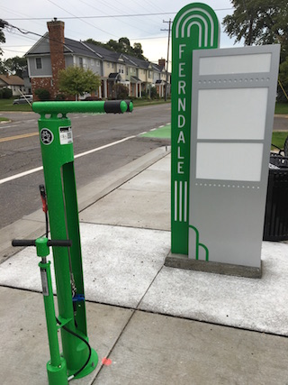 Bike need a fix? Ferndale now offers 3 free public repair stations