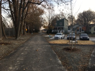 Photos: New pedestrian pathway forms expanded linear park in Pleasant Ridge