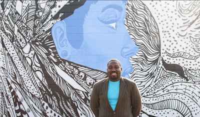 Detroit artist Ndubisi Okoye selected for 8 Mile mural