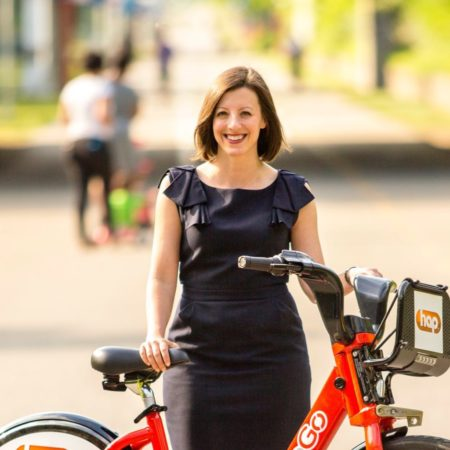 PODCAST: Lisa Nuszkowski talks MoGo bike sharing after program's first summer