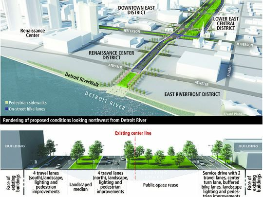 MDOT down to 2 alternatives to replace I-375 in Detroit