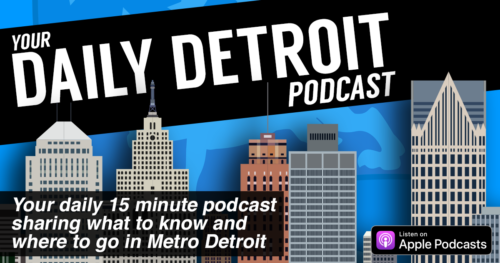 Listen to our new Daily Detroit podcast promo | 8-Wood Blog